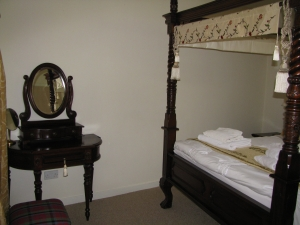 Lady Margaret master bedroom.
